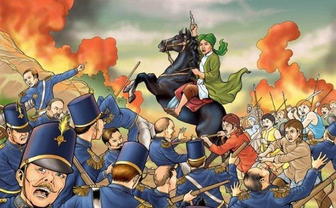 gambar Perang Diponegoro