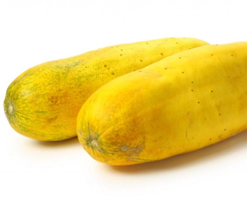 buah timun mas