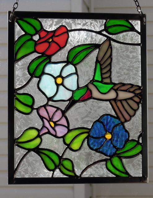 stainedglasshummingbirdpanel2016