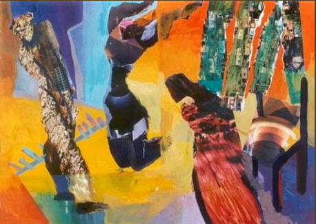 A Painting by Nargis Chalak (click on the link below for more of her work).