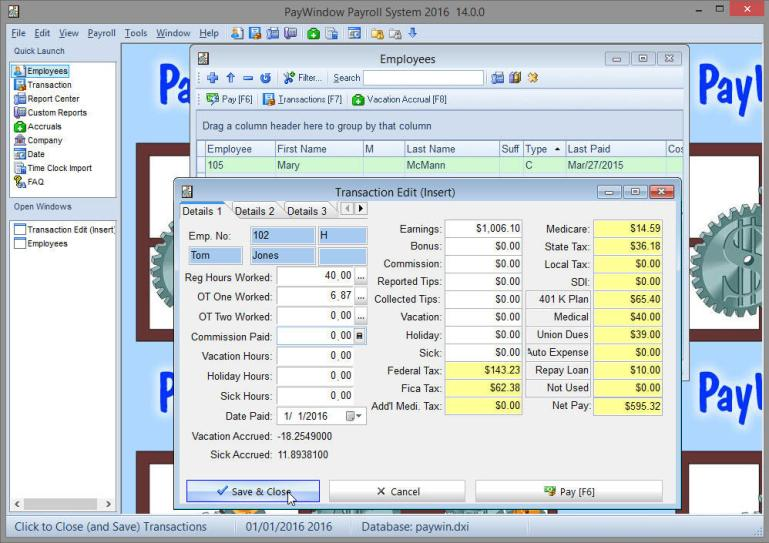 Zpay PayWindow Payroll System 18.0.16 2020 Crack
