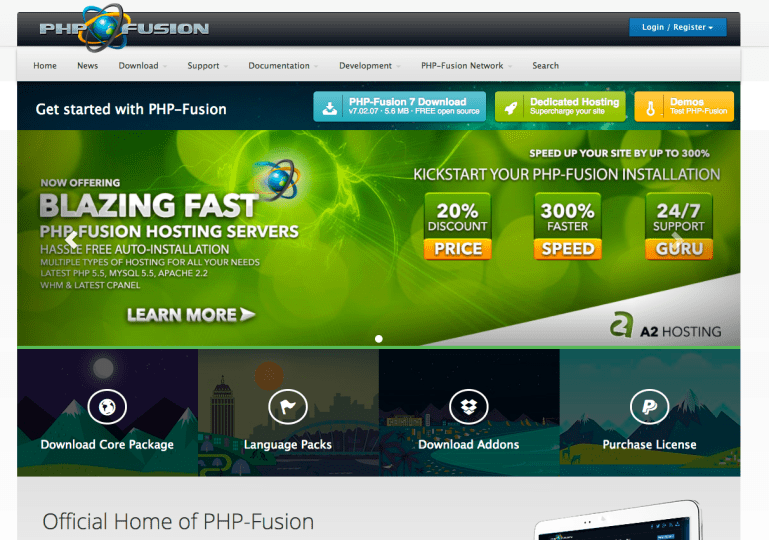 PHP-Fusion 9.03.40 Free Themes Free Download 2020