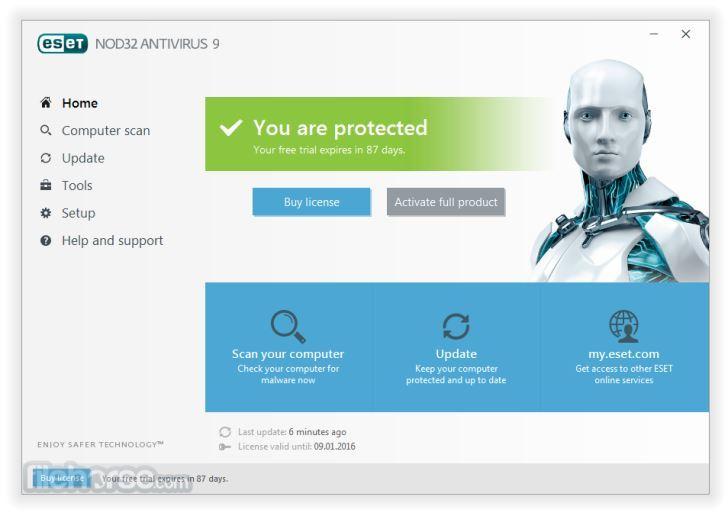 Best antivirus-ESET
