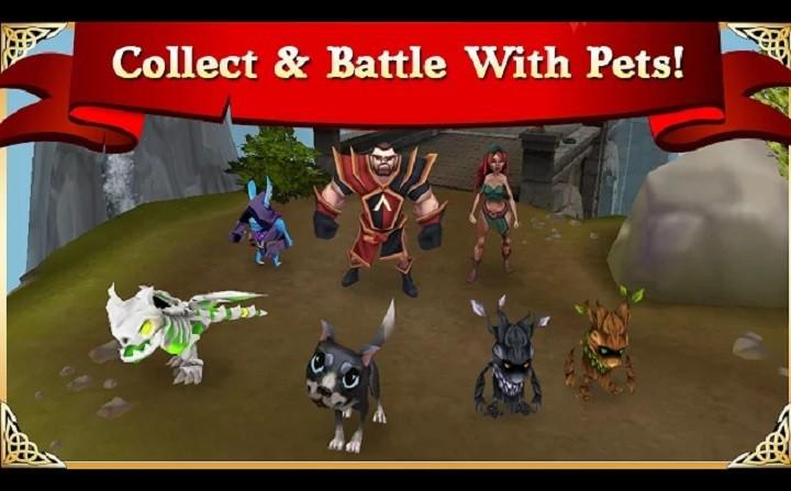 Arcane Legends google chrome game