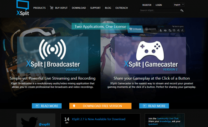 Xsplit_live_streaming _software
