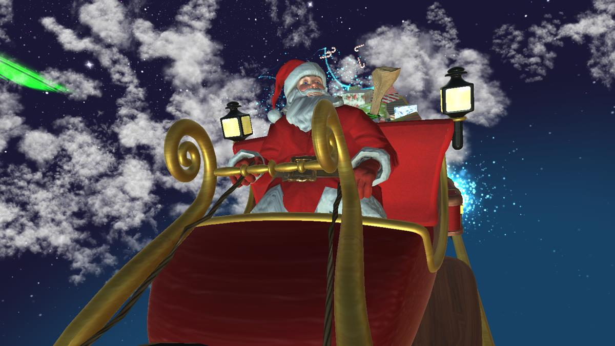 Santa Claus Is On His Way Windows Screen Savers