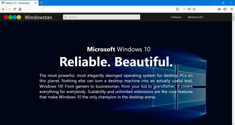 Firefox for Windows 10 Windowstan