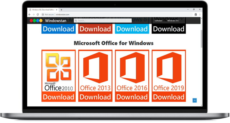 Google Chrome - Download MS Office Full ISO on Chrome full free - Windowstan