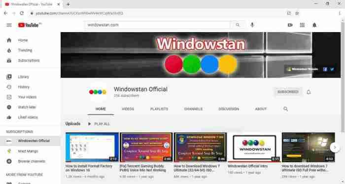 Open YouTube in app option in Chrome
