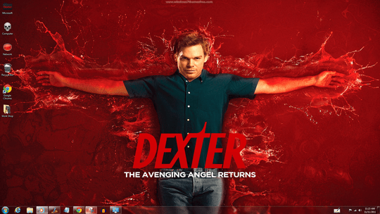 Dexter Windows 7 Theme With Icons Sounds Cursors Screensaver & Startorb [Updated] (1)