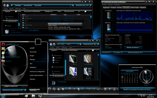 Download Free Alien Windows 7 Theme 3rd Party