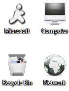 Download Free Dark Windows 7 Theme Icons Cursors 2