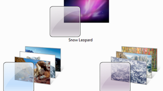 Mac OS X Snow Leopard Windows 7 Themes Pack