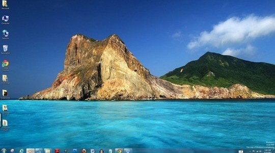 Taiwan Windows 7 Theme