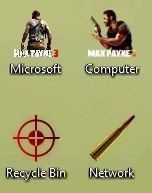 Max Payne Windows Theme With Icons, Cursors, Startorb & Sounds 2