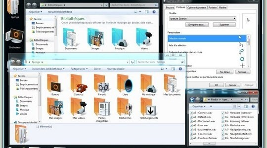 Aperture Science Windows Theme