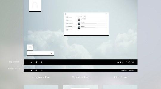WhiteDior Windows 8 Visual Style