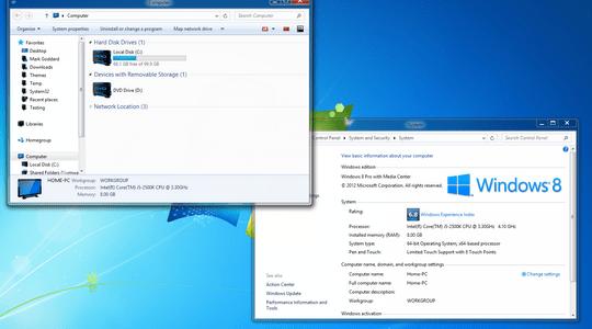 Aero 8 Glow Windows 8 Visual Style