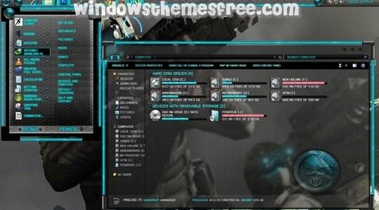 Ghost Recon Windows 7 Visual Style