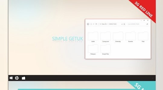 Simple Getuk Pack Windows 8.1 Visual Style