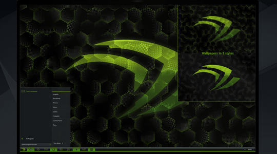 nVidia Windows 7 Visual Style