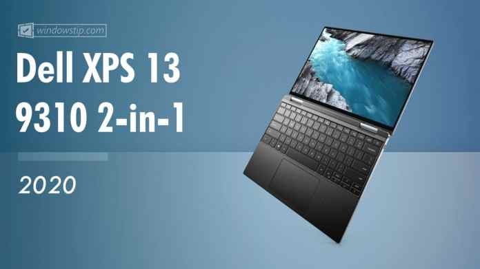 Dell Xps 13 9310 2 In 1 Late 2020 Specs Full Technical Specifications