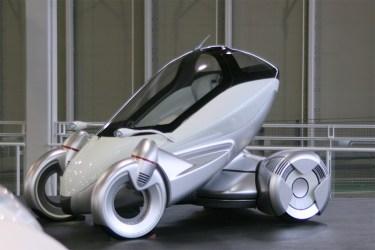 Nagano: Toyota concept car