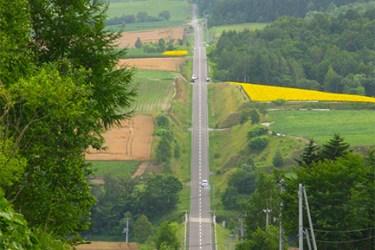Hokkaido open road