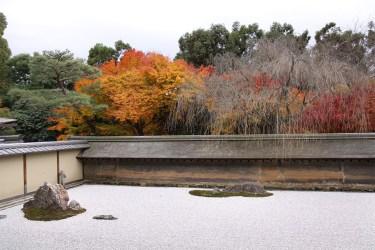 Kyoto: Ryoanji in Autumn