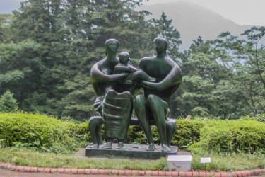 Hakone: sculpture