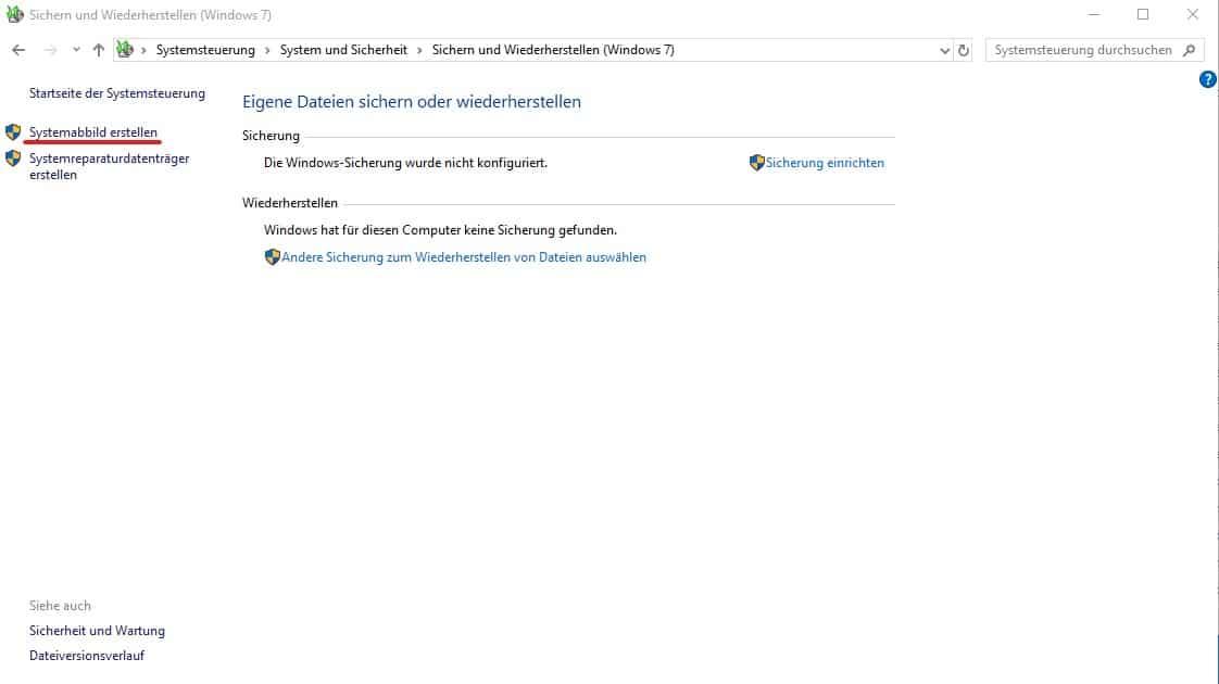 Anleitung Windows 10 Backup Sicherungskopie Erstellen So Geht S Windowsunited