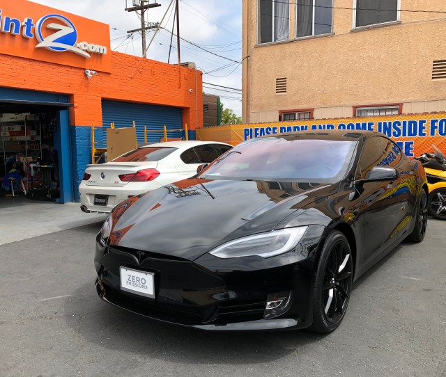 Tesla Model S Chrome Delete