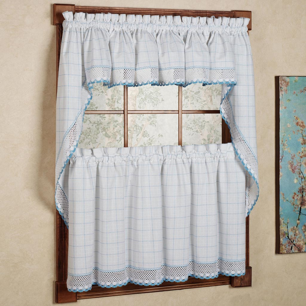 Kitchen Curtains Valances And Swags