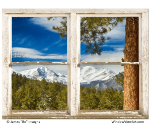 colorado mountain window views