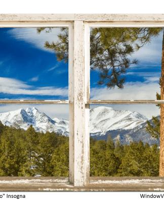 colorado mountain window views