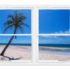 beach window views