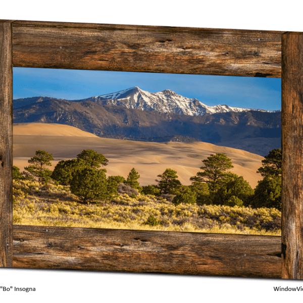 Colorado window views art