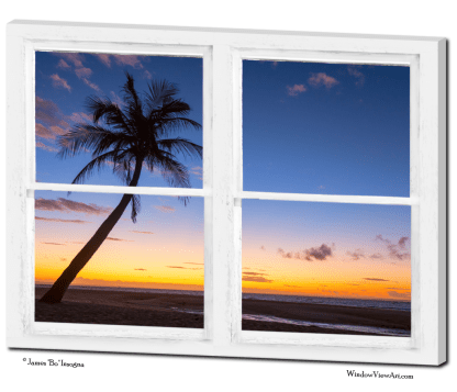 ocean tripcal window art views