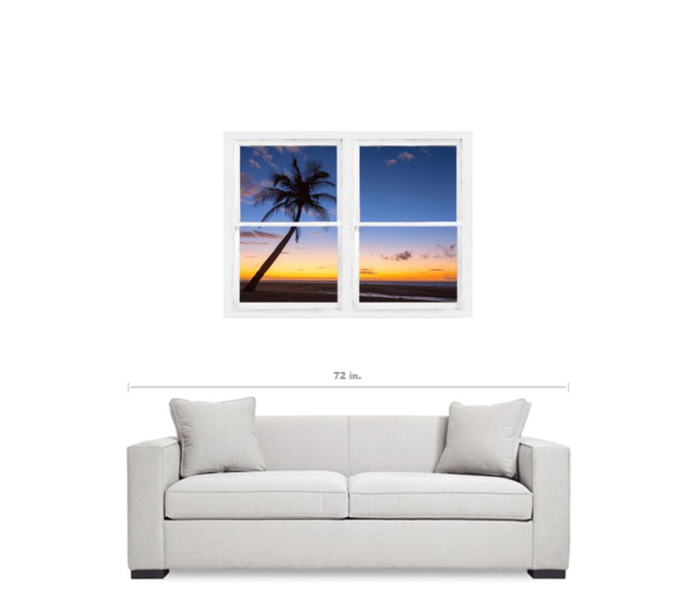 Window Art Beach