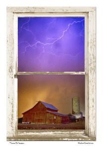 storm window view
