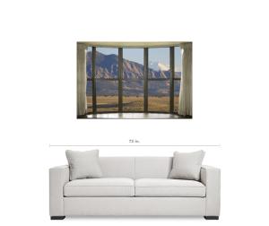 Colorado Window View Art