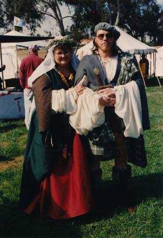 Society for Creative Anachronism Handfasting