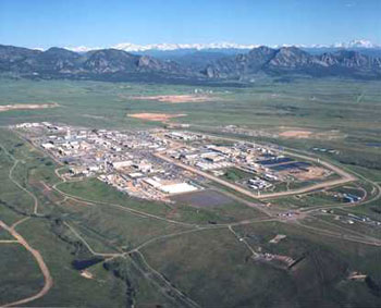 Rocky Flats Environmental Technology Site Support