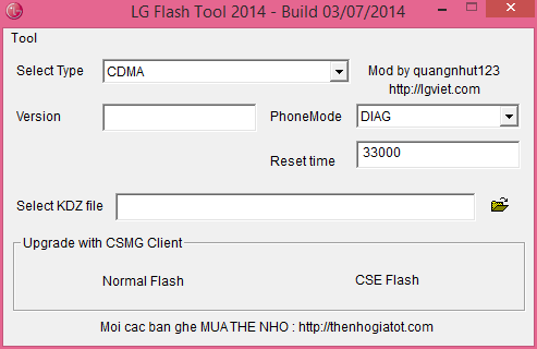 Descargar LG Flash Tool