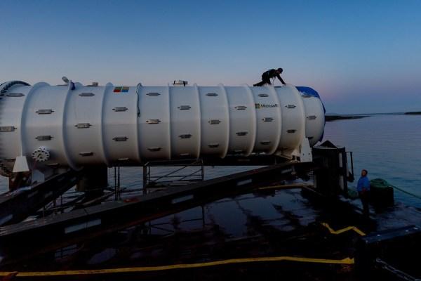 Data center oceano microsoft