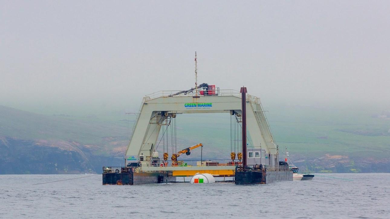 Instalación data center en el océano
