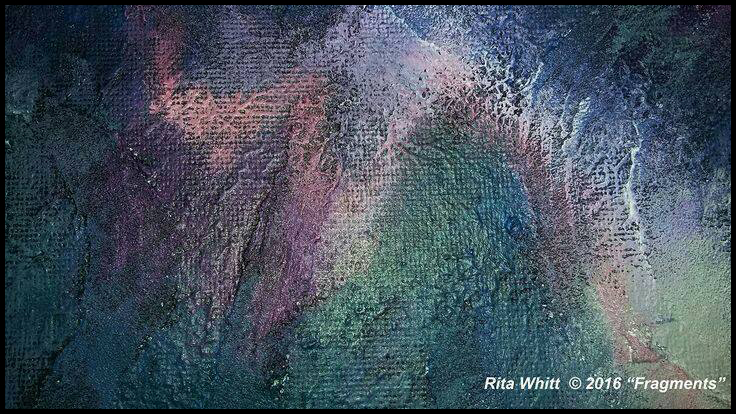 Acrylic Painting by Rita Kay Whitt aka WHITTnessForChrist 2016