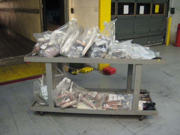 Cocaine and meth seized by CBSA