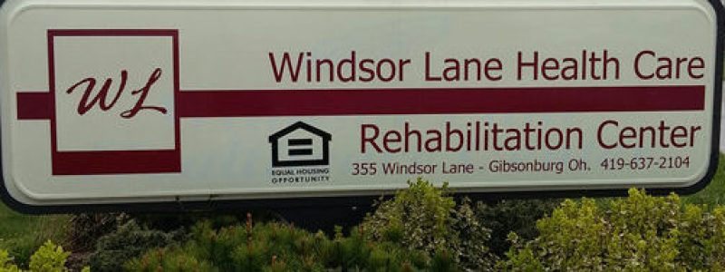 New Windsor Lane sign