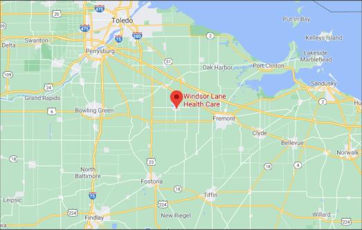 Local service area map